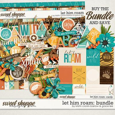 Let Him Roam: Bundle by Grace Lee and Kristin Cronin-Barrow