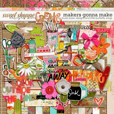 Makers Gonna Make Kit by Studio Basic and Little Butterfly Wings