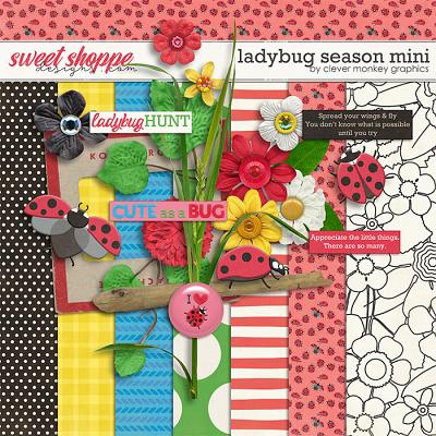 Ladybug Season Mini by Clever Monkey Graphics