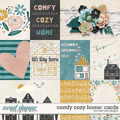 Comfy Cozy Home: Cards by River Rose Designs