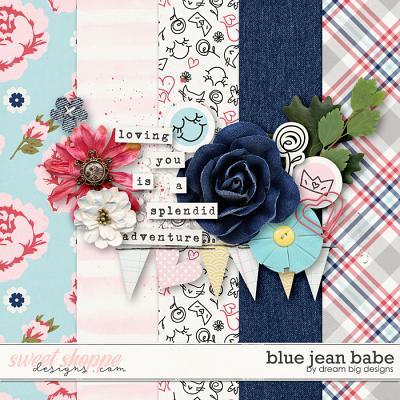 Blue Jean Babe by Dream Big Designs