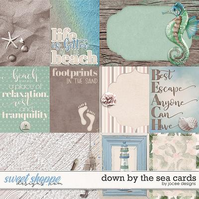 Down by the Sea Cards by JoCee Designs