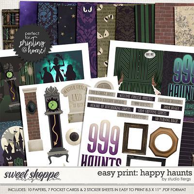 Remember the Magic: HAPPY HAUNTS- EZPRINT by Studio Flergs