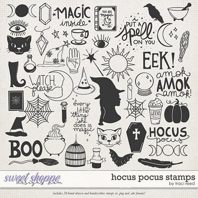 Hocus Pocus Stamps by Traci Reed