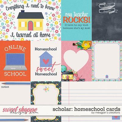 Scholar: Homeschool Cards by Meagan's Creations