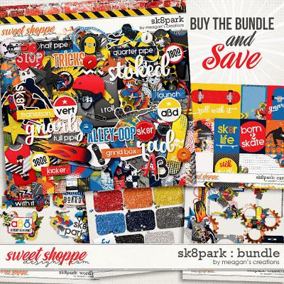 SK8park: Collection Bundle by Meagan's Creations