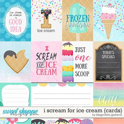 I scream for ice cream {cards} by Blagovesta Gosheva