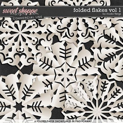 Folded Flakes VOL 1 by Studio Flergs