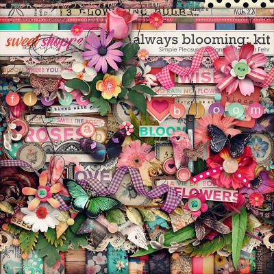 always blooming kit: simple pleasure designs by jennifer fehr