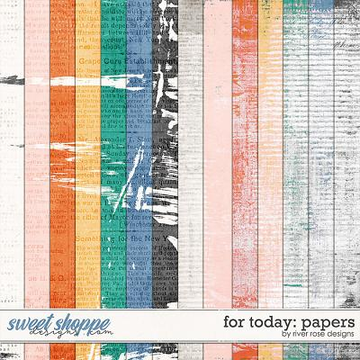 For Today: Papers by River Rose Designs