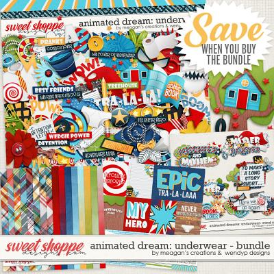 Animated Dreams: Underwear- Bundle by Meagan's Creations and WendyP Designs