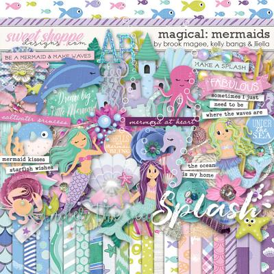 Magical: Mermaids by Brook Magee, Kelly Bangs & Lliella Designs