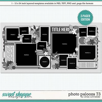 Cindy's Layered Templates - Photo Palooza 73 by Cindy Schneider
