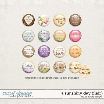 A Sunshiny Day Flair by Ponytails