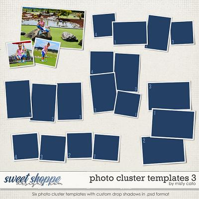 Photo Cluster Templates 3 by Misty Cato