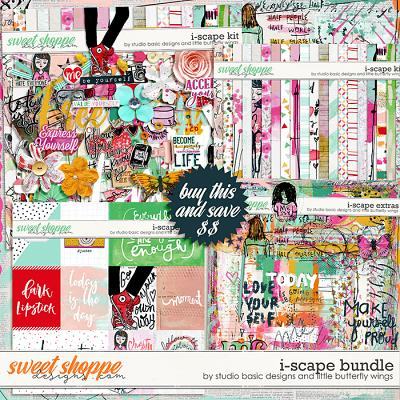 i-scape Bundle by Studio Basic and Little Butterfly Wings
