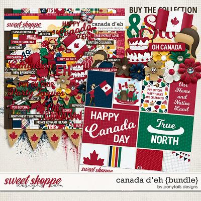 Canada D'Eh Bundle by Ponytails
