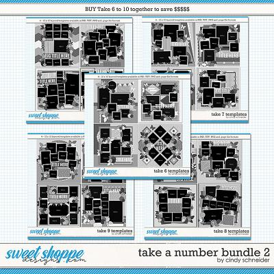 Take a Number Bundle 2 by Cindy Schneider