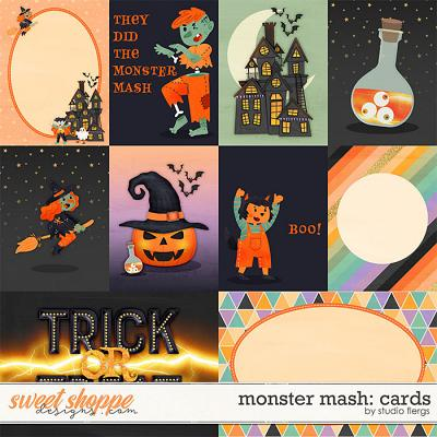 Monster Mash: CARDS by Studio Flergs