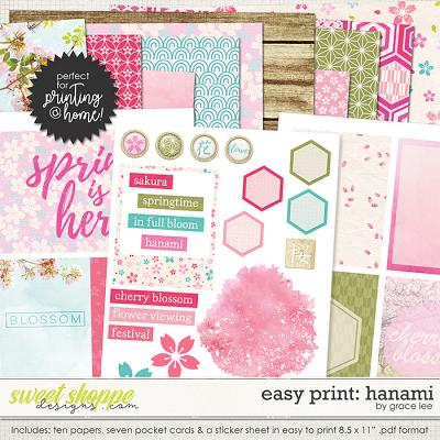 Easy Print: Hanami by Grace Lee