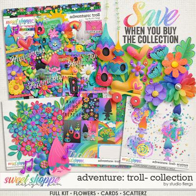 Adventure: Troll- COLLECTION *FWP* by Studio Flergs