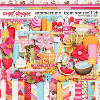 Summertime: Treat Yourself Kit by River Rose Designs