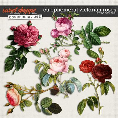 CU EPHEMERA | VICTORIAN ROSES by The Nifty Pixel