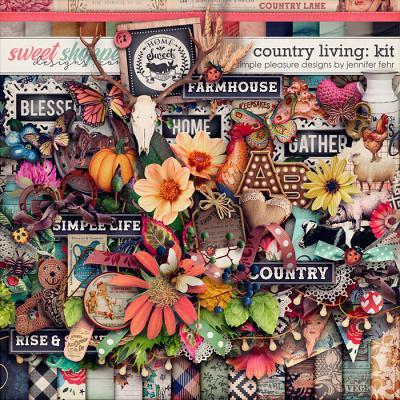 country living kit: simple pleasure designs by jennifer fehr