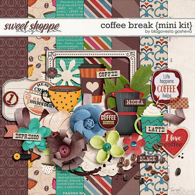 Coffee Break {mini kit} by Blagovesta Gosheva
