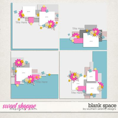 Blank Space Layered Templates by Southern Serenity Designs