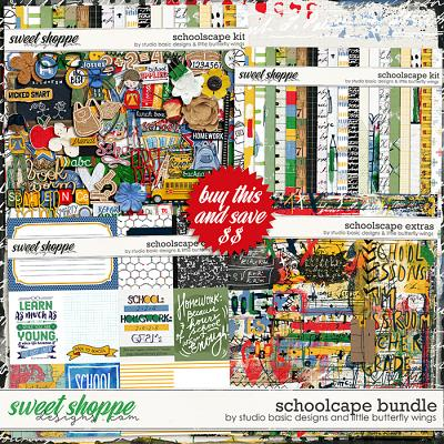 Schoolscape Bundle by Studio Basic and Little Butterfly Wings