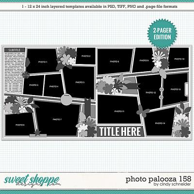 Cindy's Layered Templates - Photo Palooza 158 by Cindy Schneider