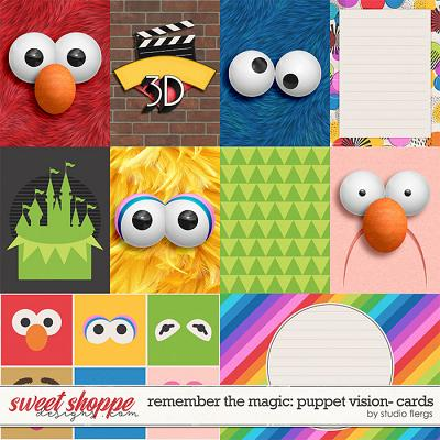 Remember the Magic: PUPPET VISION- CARDS by Studio Flergs