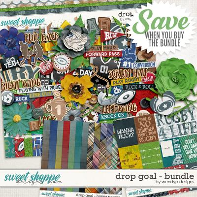 Drop goal - Bundle by WendyP Designs