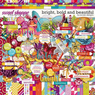 Bright, Bold and Beautiful by JoCee Designs
