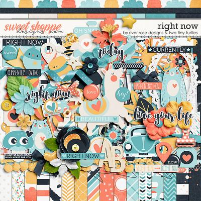 Right Now :: Kit by River~Rose Designs & Two Tiny Turtles