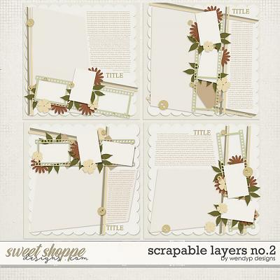 Scriptable layers no.2 by WendyP Designs