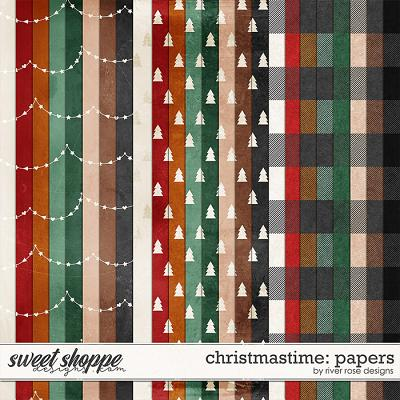 Christmastime: Papers by River Rose Designs