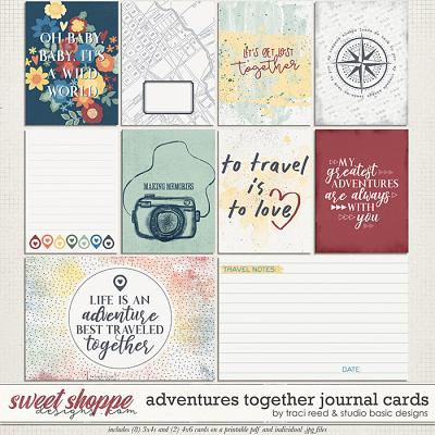Adventures Together Cards by Studio Basic & Traci Reed