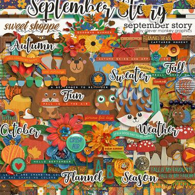 September Story by Clever Monkey Graphics