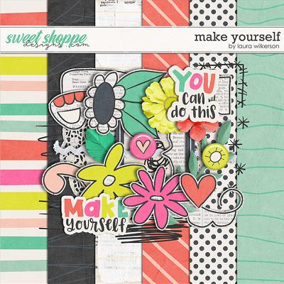 Make Yourself: Sampler by Laura Wilkerson