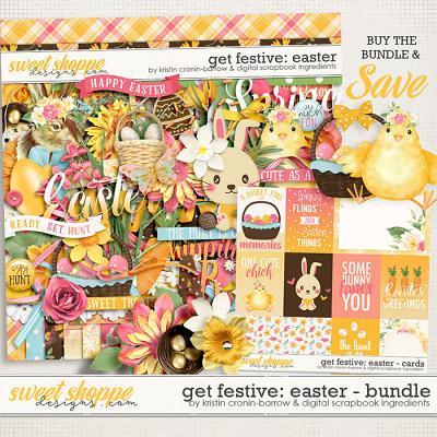 Get Festive: Easter Bundle by Kristin Cronin-Barrow & Digital Scrapbook Ingredients