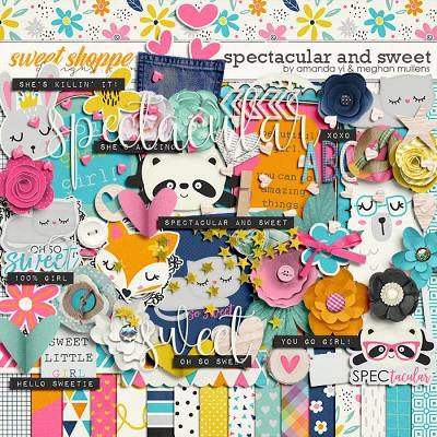 Spectacular & Sweet by Amanda Yi Designs & Meghan Mullens