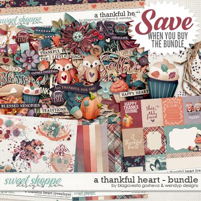 A thankful heart {bundle} by Blagovesta Gosheva & WendyP Designs