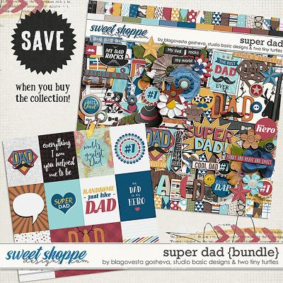 Super Dad Bundle by Blagovesta Gosheva, Studio Basic and Two Tiny Turtles