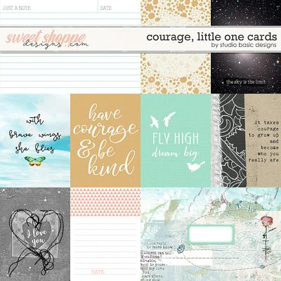Courage, Little One Cards by Studio Basic