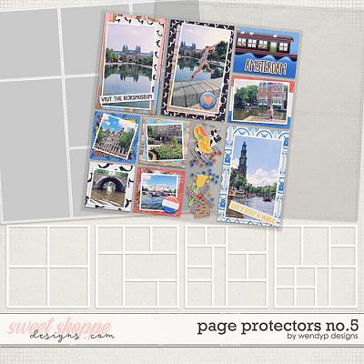 Page Protectors No.5 by WendyP Designs
