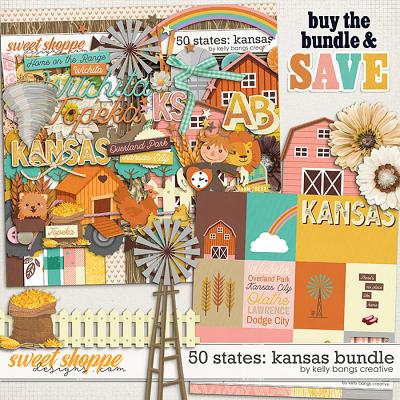 50 States: Kansas Bundle by Kelly Bangs Creative