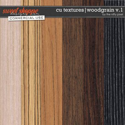 CU TEXTURED OVERLAYS | WOODGRAIN V.1 by The Nifty Pixel