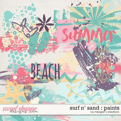 Surf N' Sand : Paints by Meagan's Creations